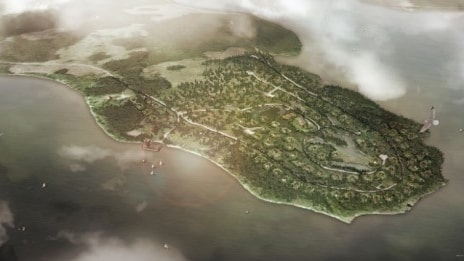 Såhär kan Lake Resort komma att se ut från ovan.