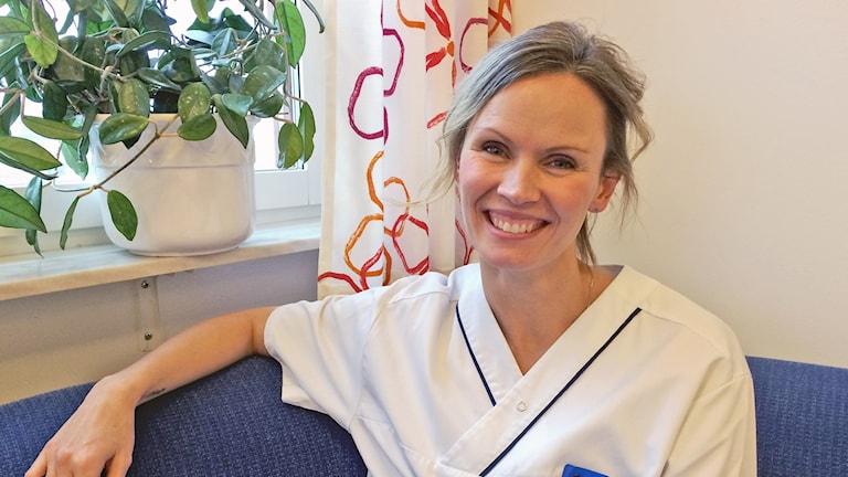 Jennie Kilstam. chef på amningsmottagningen i Örebro.