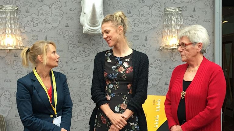 Marie-Louise Forsberg Fransson , Emilia Fahlin och Susanne Gunnarsson