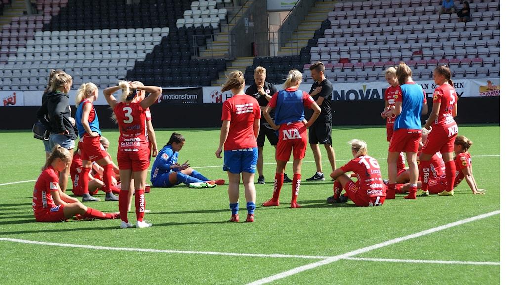 Kif Örebro vann mot Uppsala. Foto: Lasse Hellstrandh/Sveriges Radio