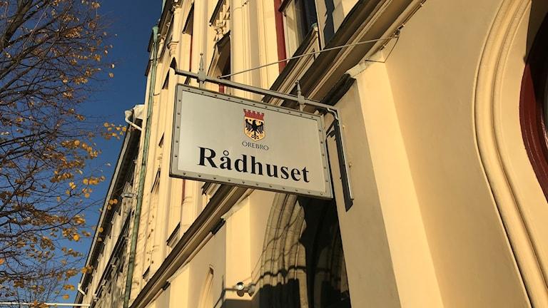 Rådhuset, Örebro kommun.