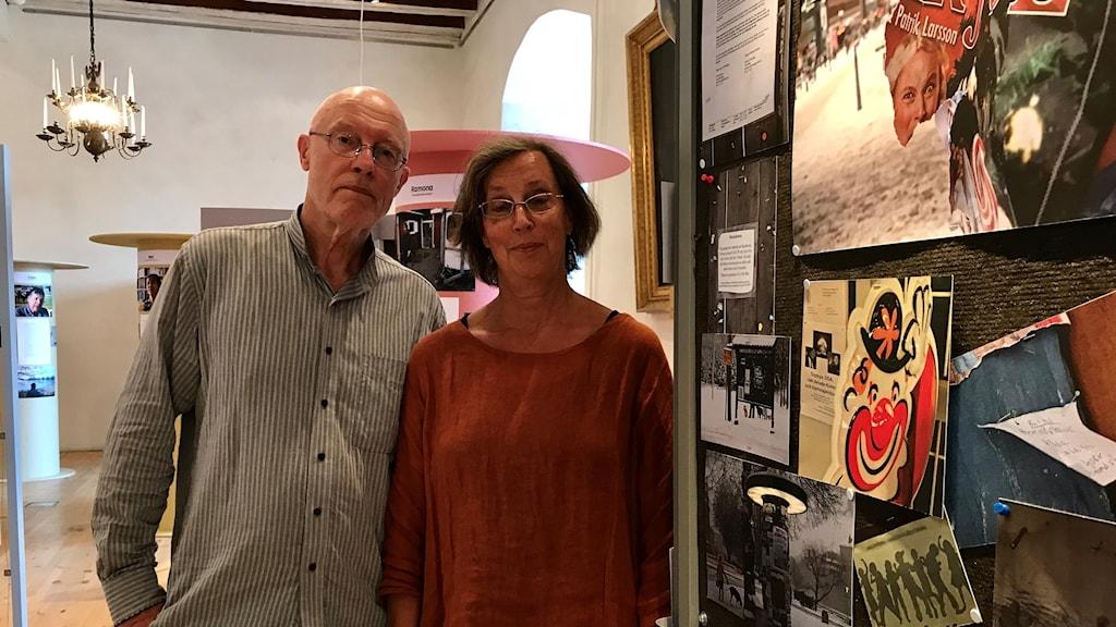 Staffan Ekegren och Maria Sedell
