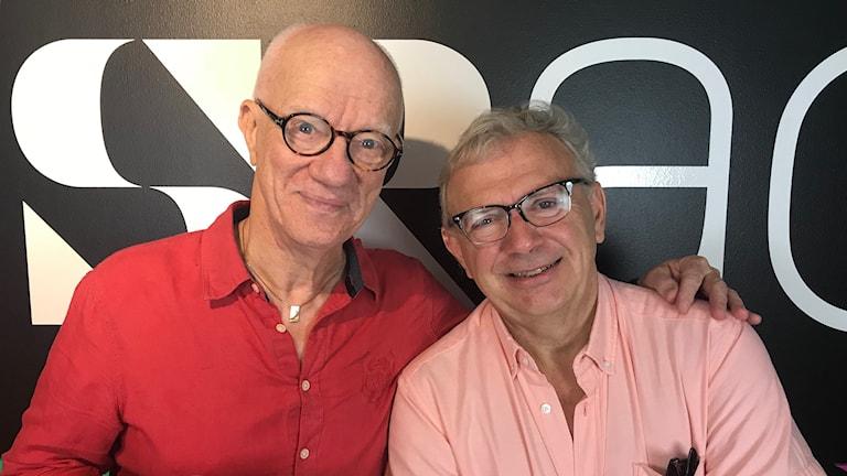 Peter Flack och LG Månzon.