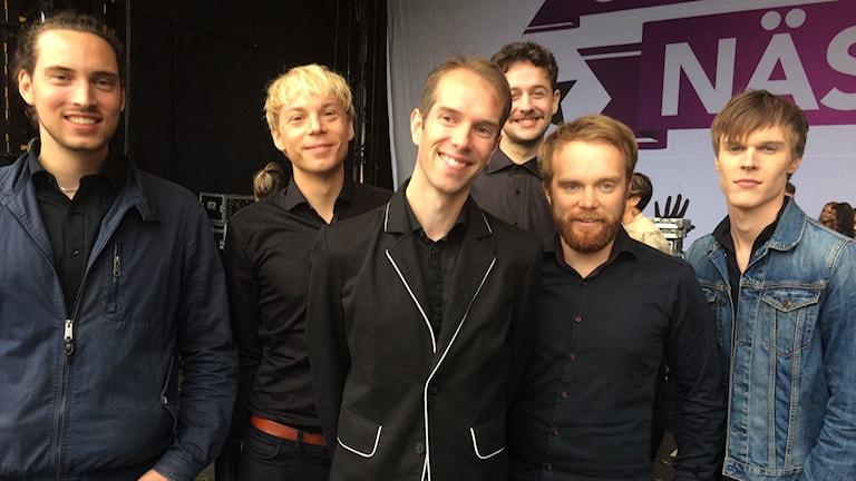 Les Gordons tror kanske att de ska tacka ja till erbjudandet om att vara med i Melodifestivalen.