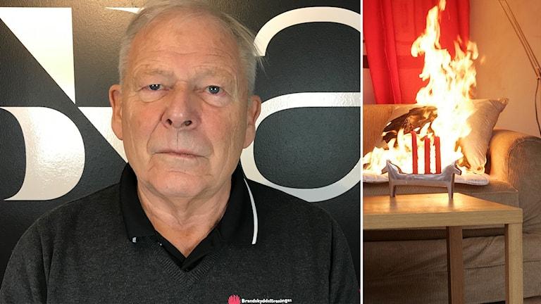 Ulf Andersson är verksamhetsledare på brandskyddsföreningen Örebro.