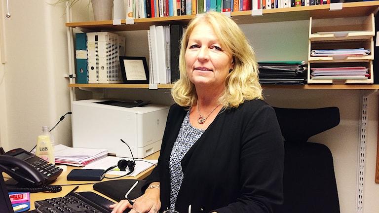 Ylva Rosén, verksamhetschef för Barn- och ungdomspsykiatrin