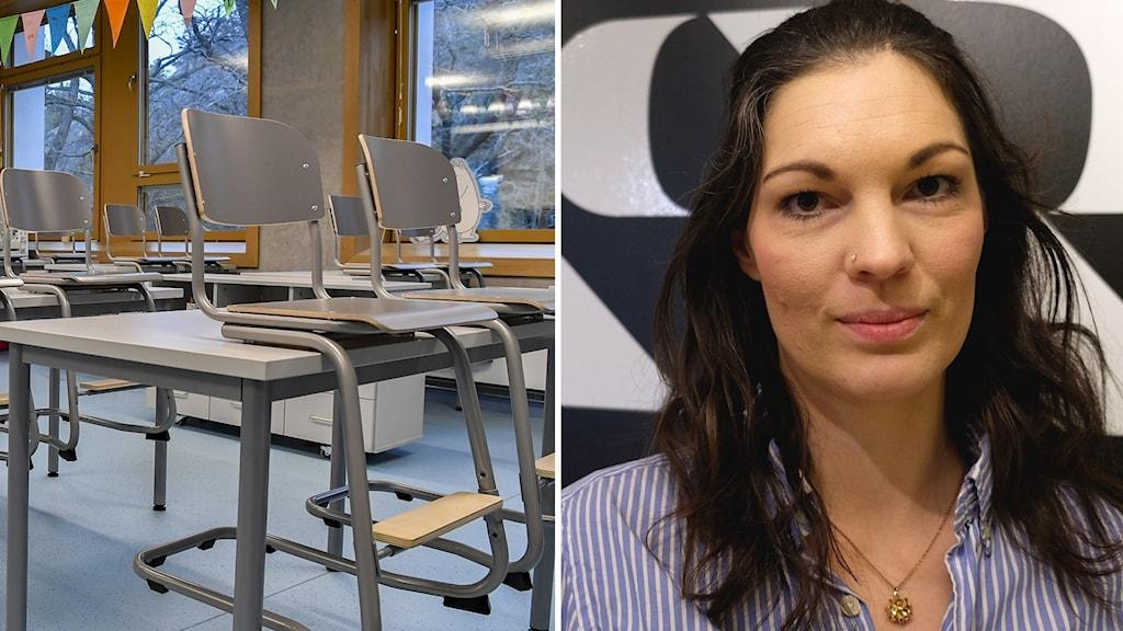 Elisabeth Malmqvist (C), är ordförande i gymnasienämnden i Örebro.