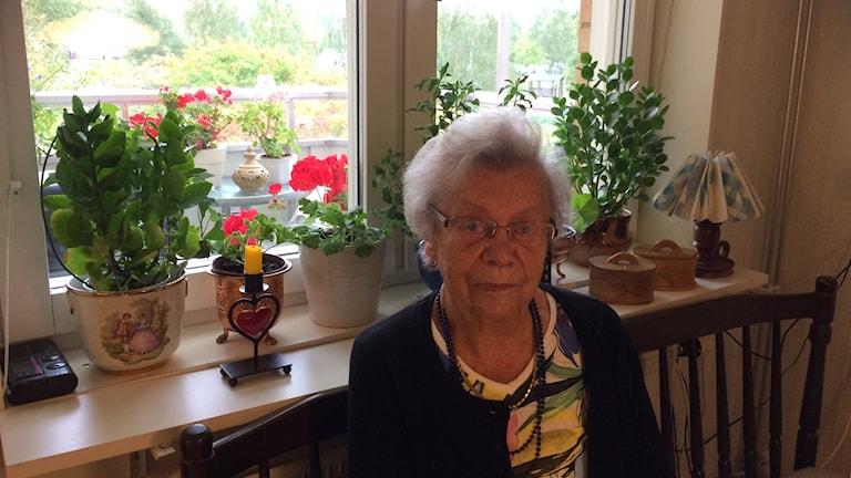 Margareta Ekemur blev utsatt av en bedragare i sitt hem.