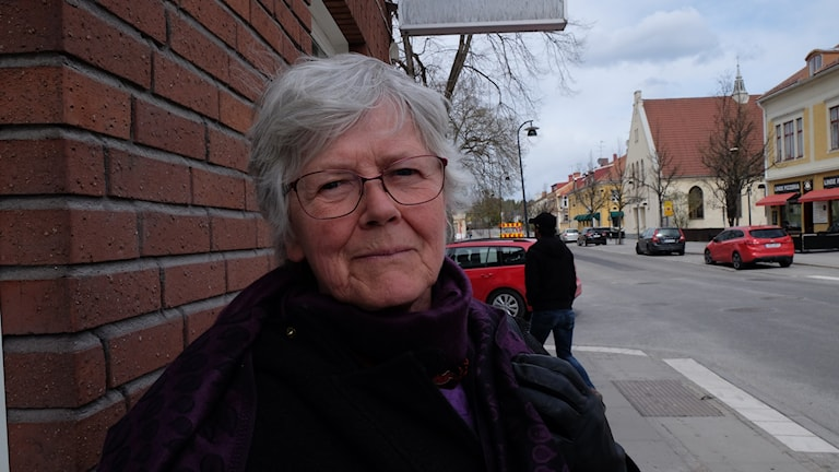 Yvonne Strömberg, Lindesbergsbo, Kristinavägen.