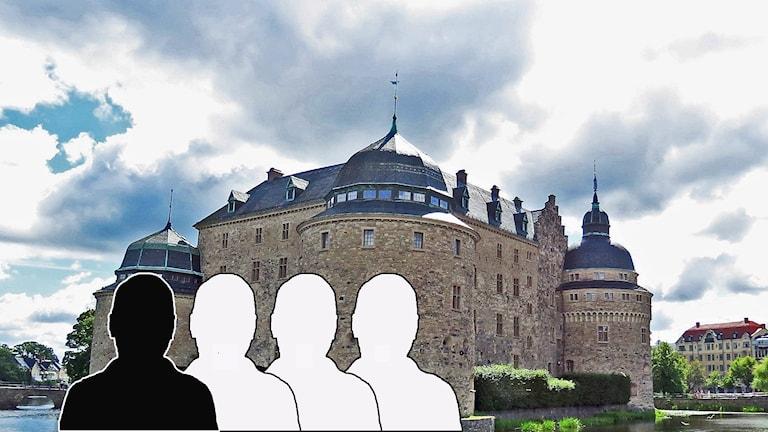 Bildmontage Örebro slott