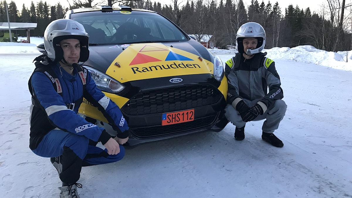 Pontus Lönnström med Richard Svensson