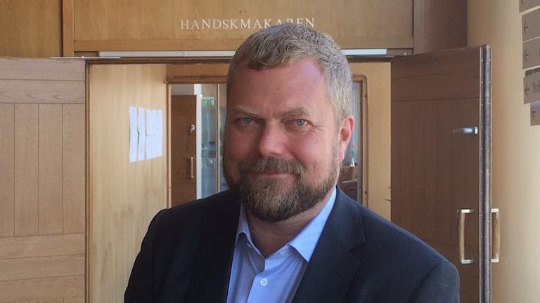 Jonas Karlsson, VD för Oslo-Stockholm 2.55. Foto: Marie Hansson/Sveriges Radio.