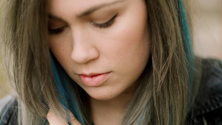 Bild på Elvira Eberfors som drabbats av svår Endometrios