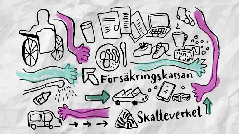 kortpodd P4 Örebro assistansfusket assistans assistansbolag ATS Fahlander fusk Försäkringskassan