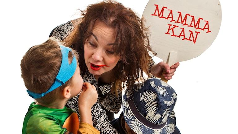 Mamma kan - serie av Jenny Wåhlander