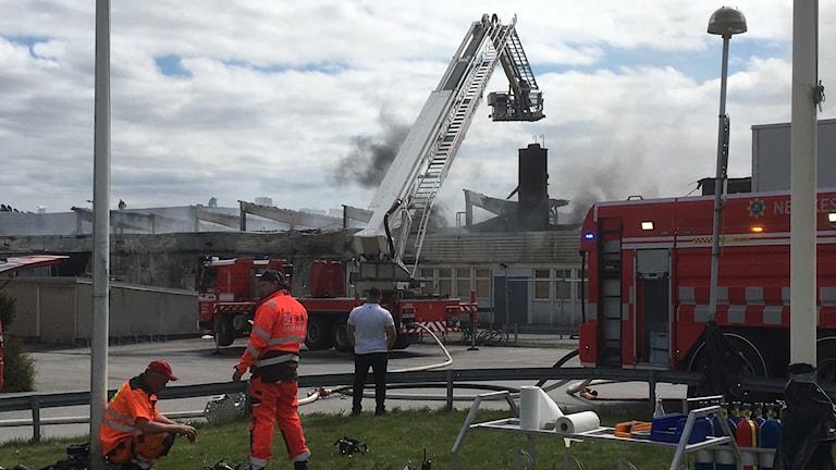 Branden vid Rejmes i Örebro