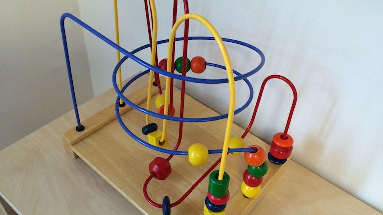 Lek pedagogisk leksak förskola