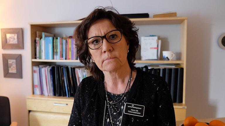 Marie Kilk, skolchef, sydnärkes utbildningsförbund, alléskolan.