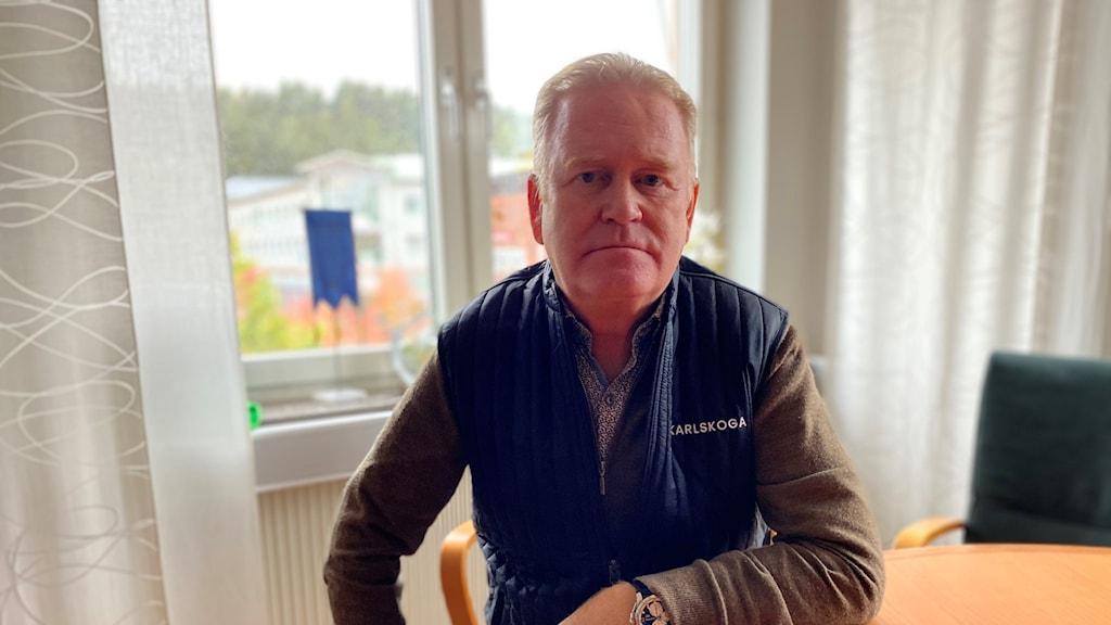 Tony Ring, moderat och kommunstyrelsens ordförande i Karlskoga