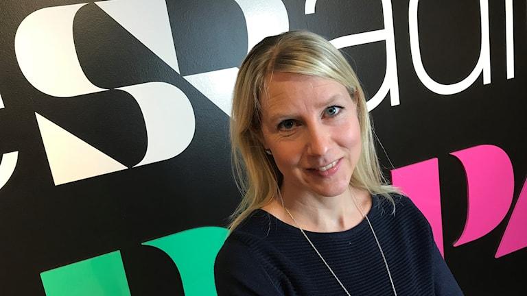 Forskare Hanna Almlöf gästade P4 Örebro
