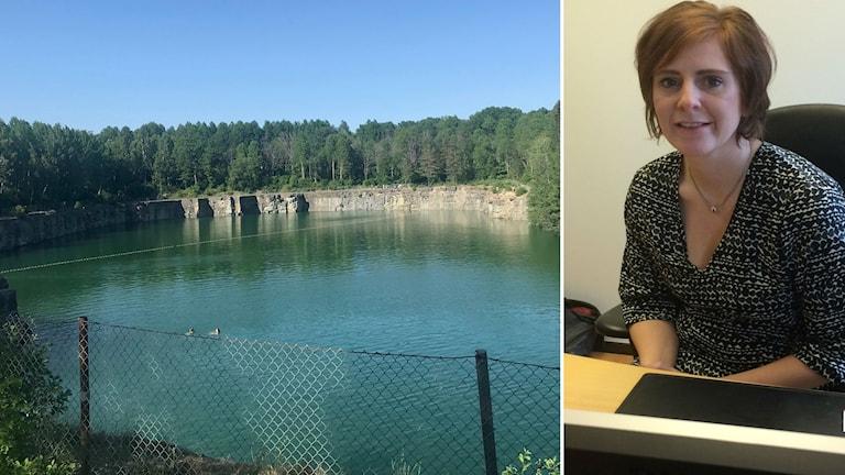 Wendla Thorstensson (C), kommunstyrelsens ordförande i Lekeberg om situationen med bråk och stök vid Lanna badgruva.