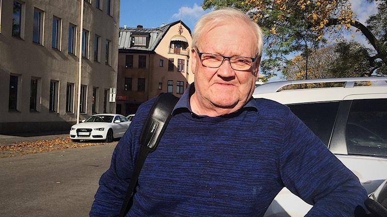 Bo Karlsson, ordförande för ILCO, intresseorganisation Tarm-uro- och stomiförbundet