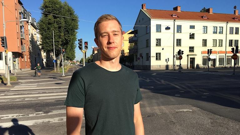 Joakim Hultin, trafikingenjör Örebro kommun.
