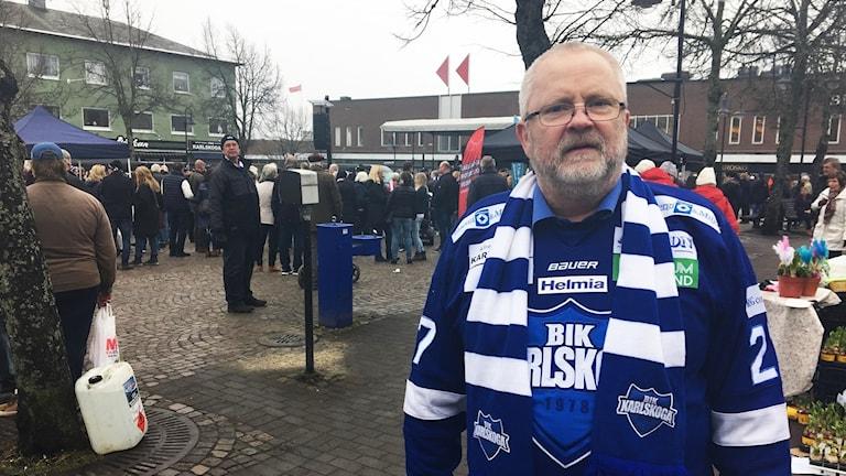 Sven-Olov Axelsson, kommunstyrelsens socialdemokratiska ordförande i Karlskoga.