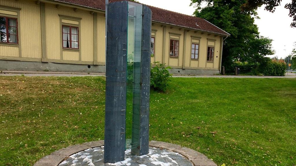 Minnesmärket Estonia av Gunilla Dovsten och Nick Furderer.