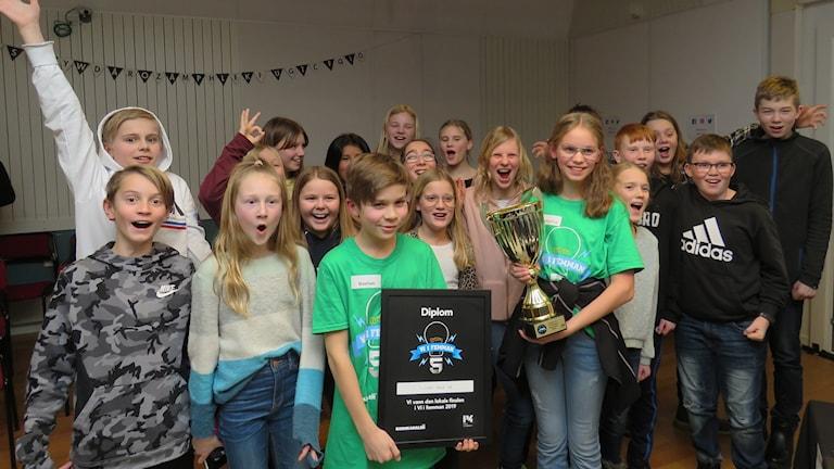 Vinnare i Örebro län Lillåns skola 5B 2019