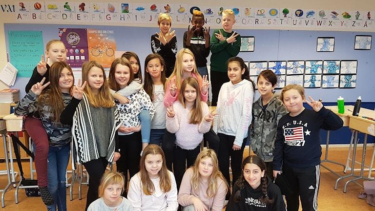 Centralskolan 5A Laxå, Vi i femman 2018
