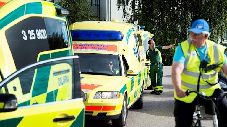 Ambulansförare vallfärdar till Örebro i veckan.