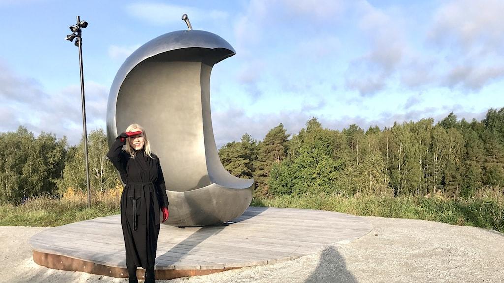 Gabriella Menerwa Kaasinen, intendent för offentlig konst