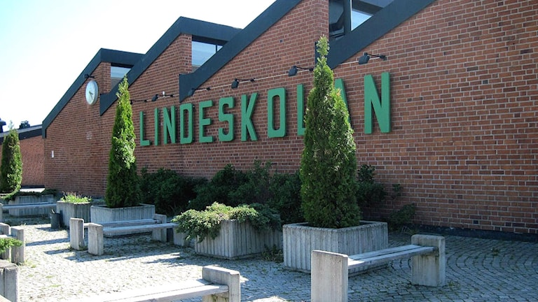 Lindeskolan. Foto: Anna Björndahl/Sveriges Radio.