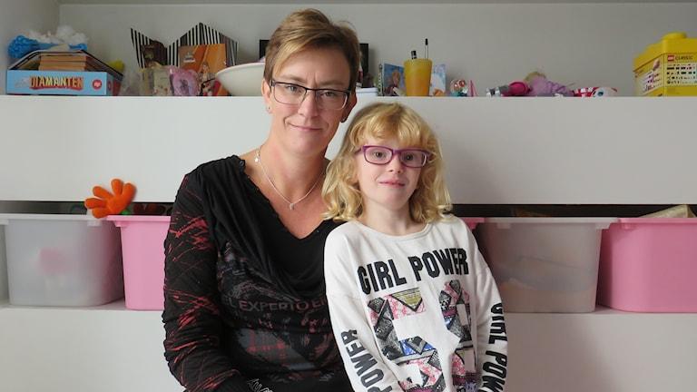 Ellinor och Leonie Silverdahl