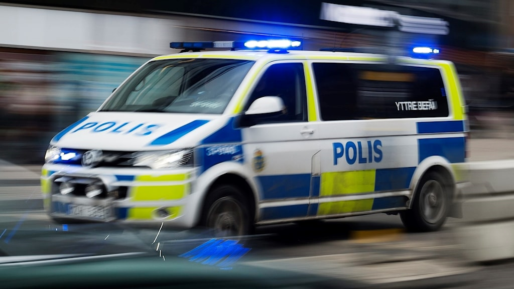 polisbil polisbuss fart biljakt jaga