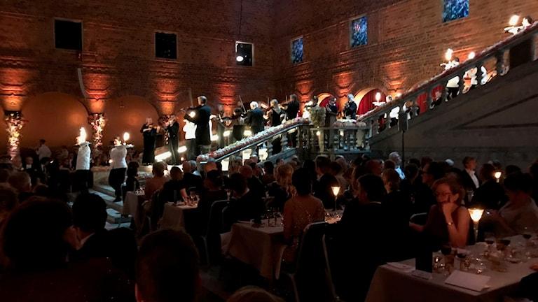 Nobeldag med Akademisk festuvertyr, pampigt ur Örnnästet och Lang Lang spelar Liszt