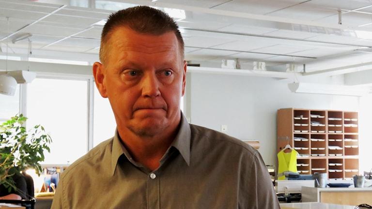 Leif Lexon är gruppchef på bedrägeribrott hos polisen i Örebro län.