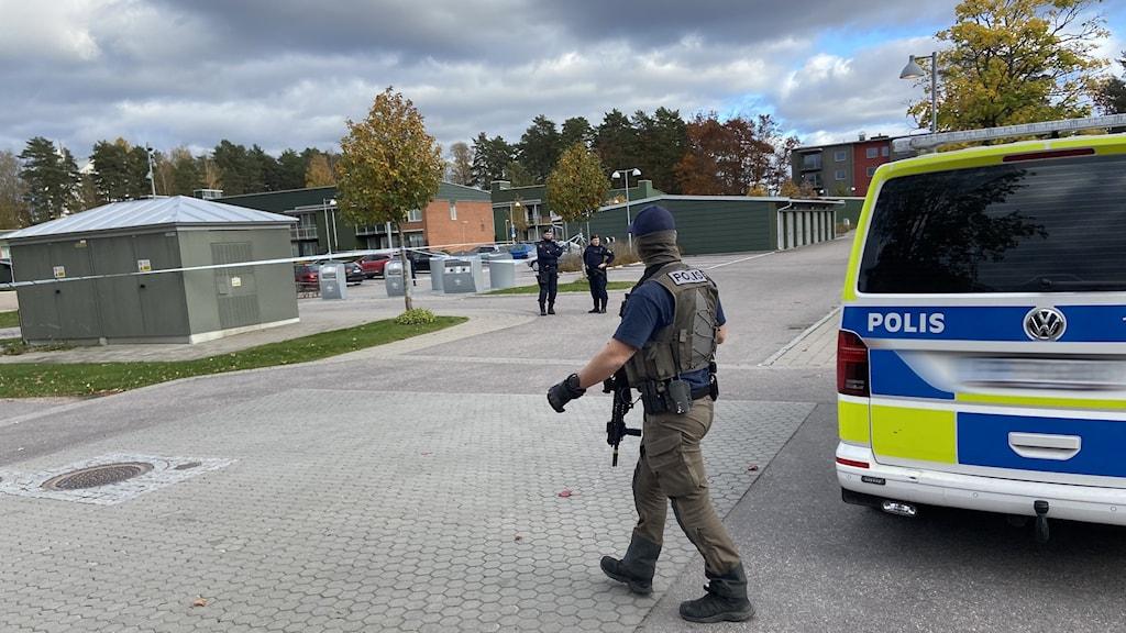 Misstänkt skottlossning Vivalla