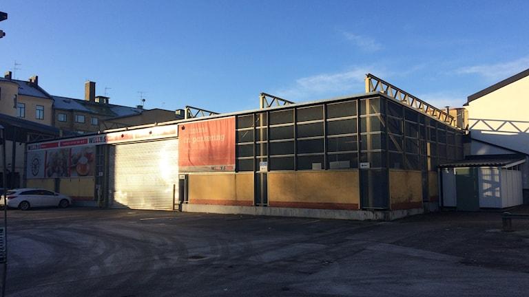 Kvarteret Hållstugan i centrala Örebro
