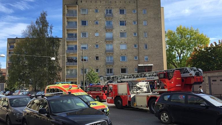 Utryckning på norr i Örebro, men ingen brandhärd kunde lokaliseras.