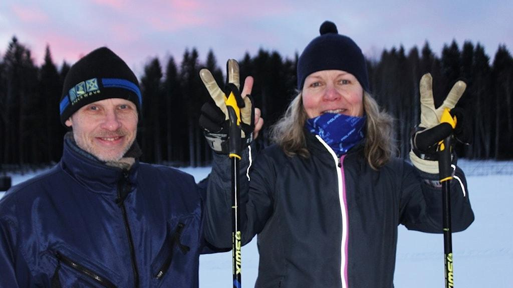 Bengt Nettelbladt och Mariana Barkowisk ska åka Vasaloppet 2017.