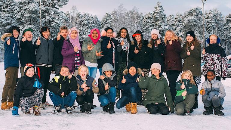 Klass 5A Centralskolan i Laxå