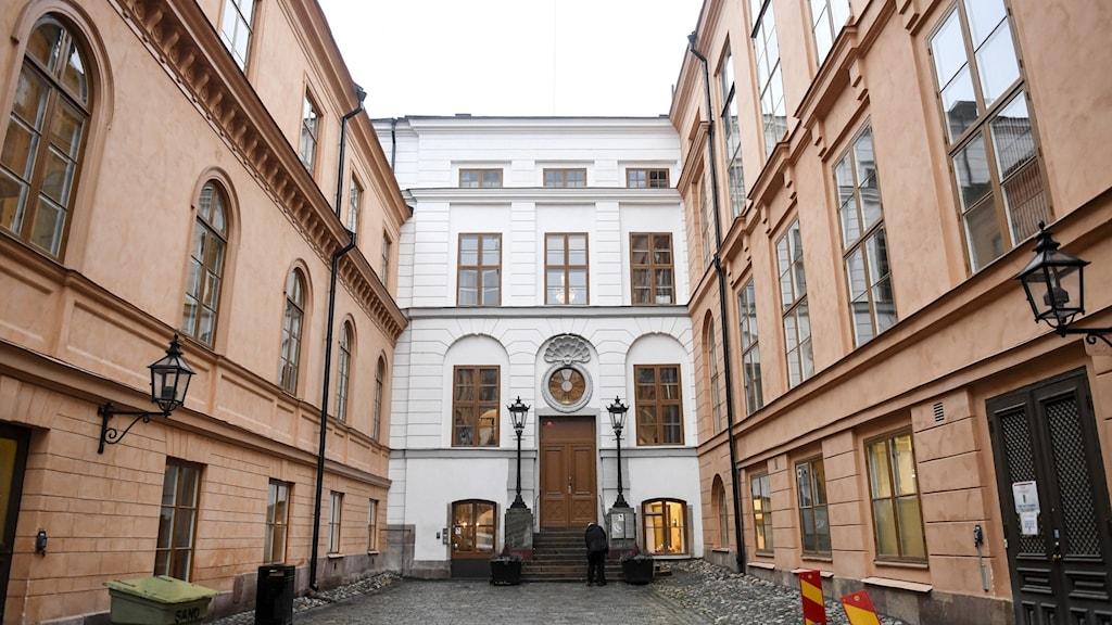 Hovrätten interiör i Stockholm