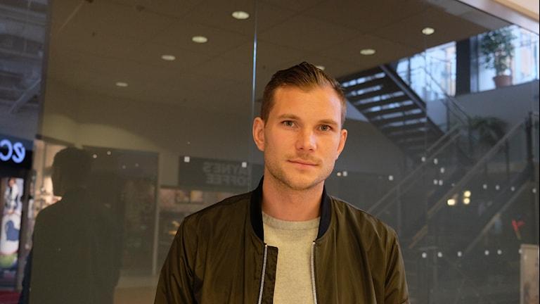 Robert Åhman-Persson, fotbollsspelare och lagkapten i ÖSK.