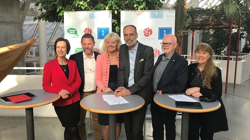 Här är nya styret i Region Örebro län.