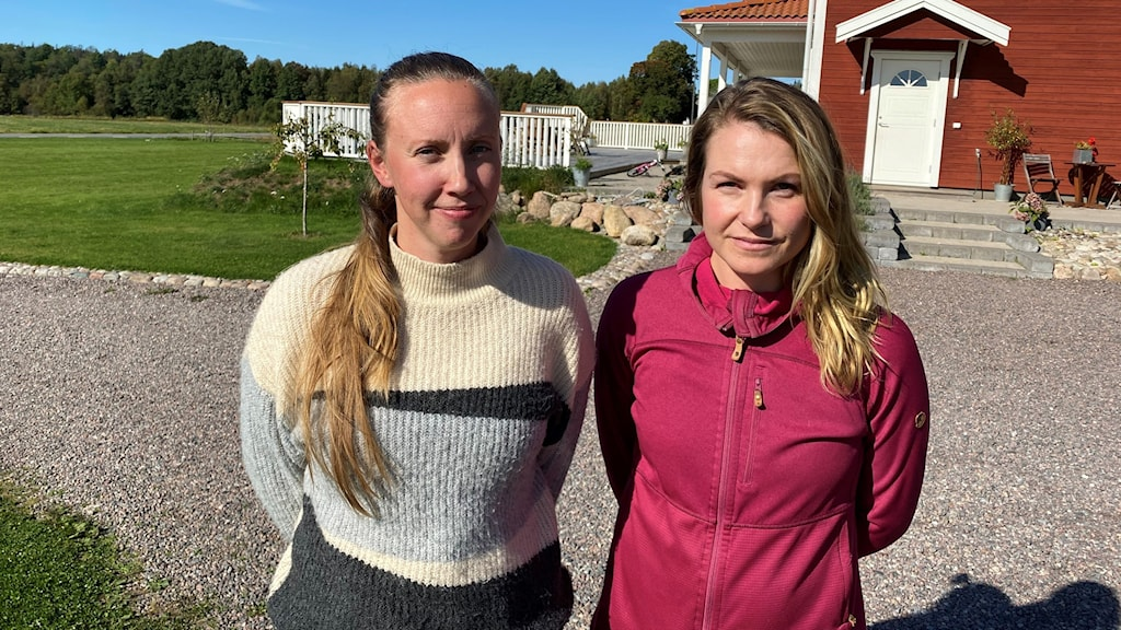 Lina Tingö och Therese Larsson bakom initiativet att starta friskoleverksamhet.