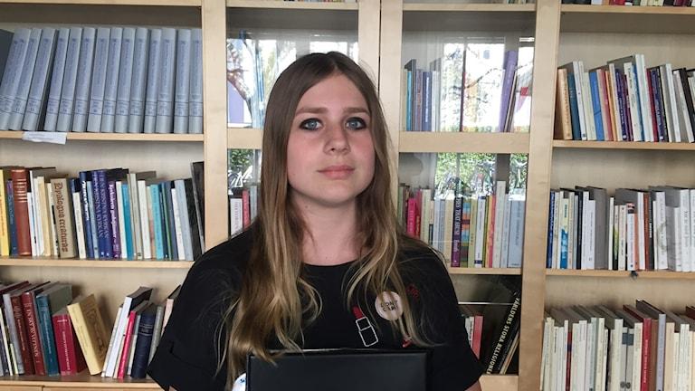 Siri Ankarfors från Växjö är i Örebro i helgen för att vara med på körfestivalen.