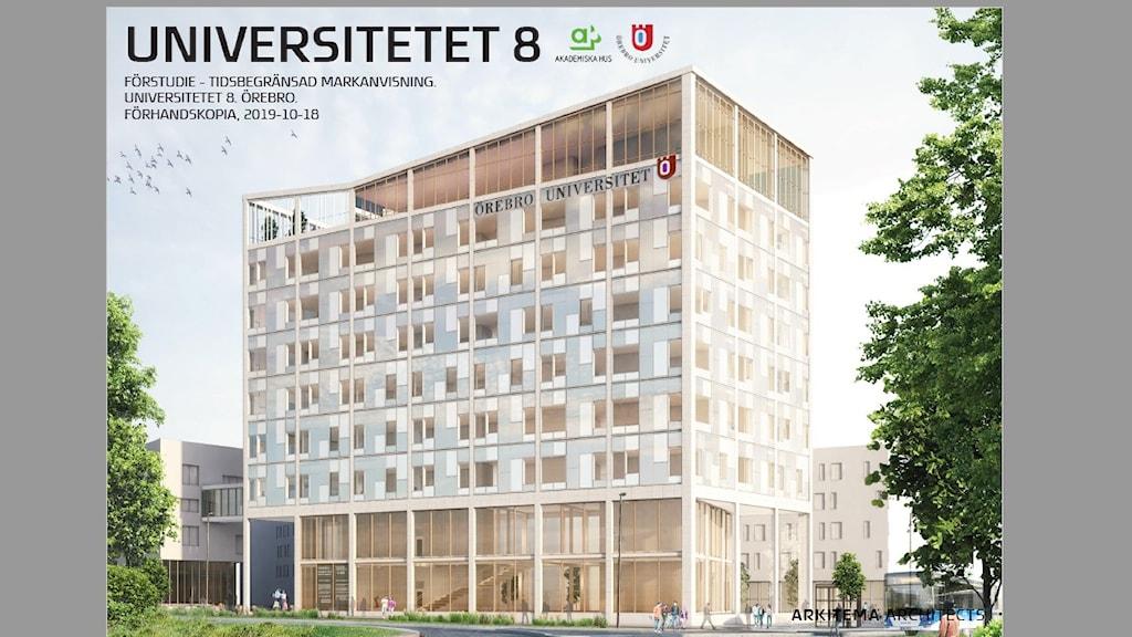 hus P23 Örebro universitet