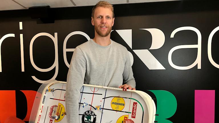 Örebroaren Calle Gunnarsson skattar vinsten i NHL som det största som hänt honom.